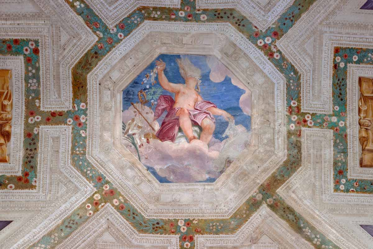 Frescoes by Giambattista Zelotti